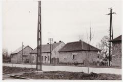 A József Attila sgt. vége (1965) balról a 2. épület a Pártház