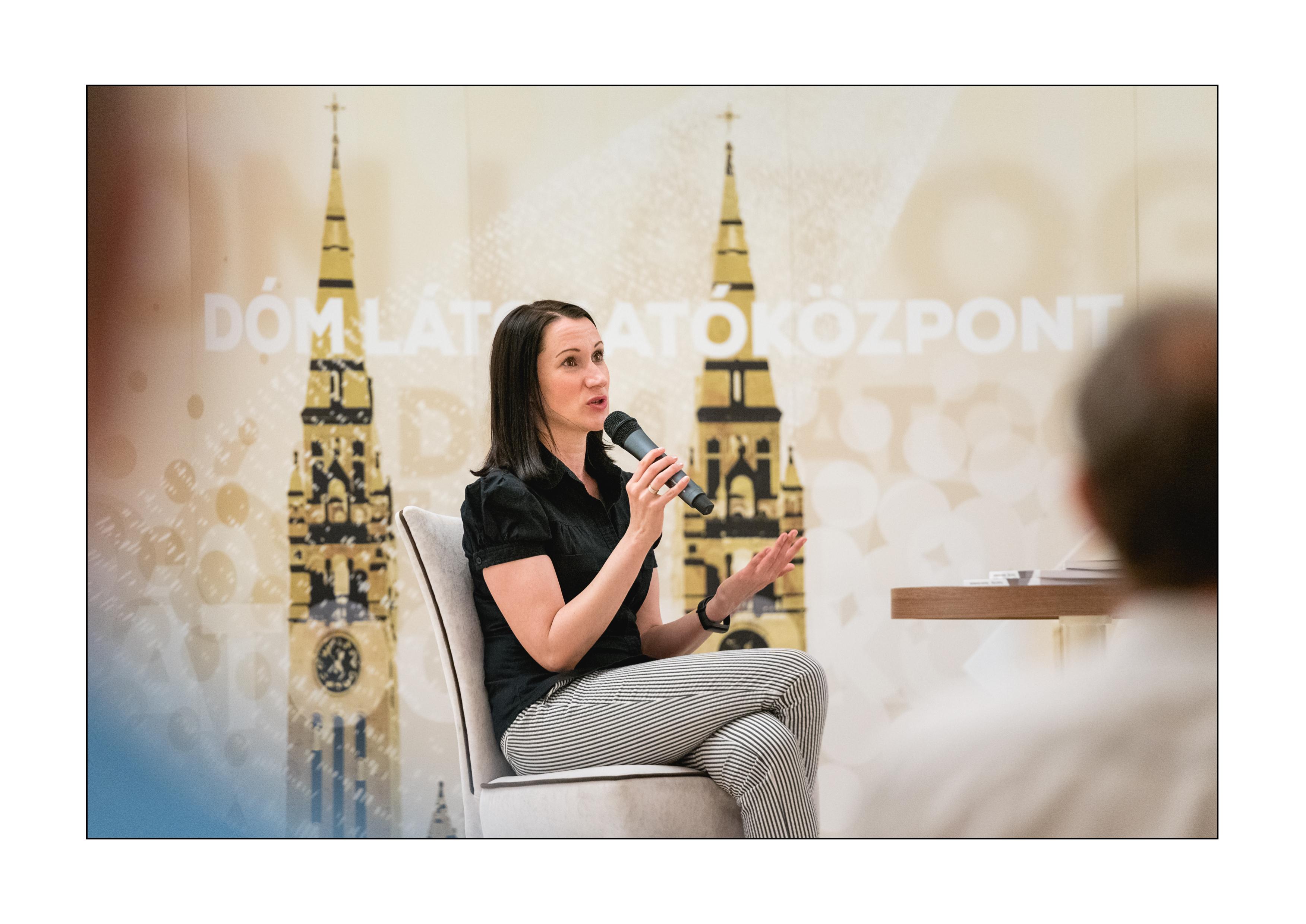Televíziós műsorkészítés - könyvbemutató, 2020. 09.15. (Fotó: Ocskó Ferenc)