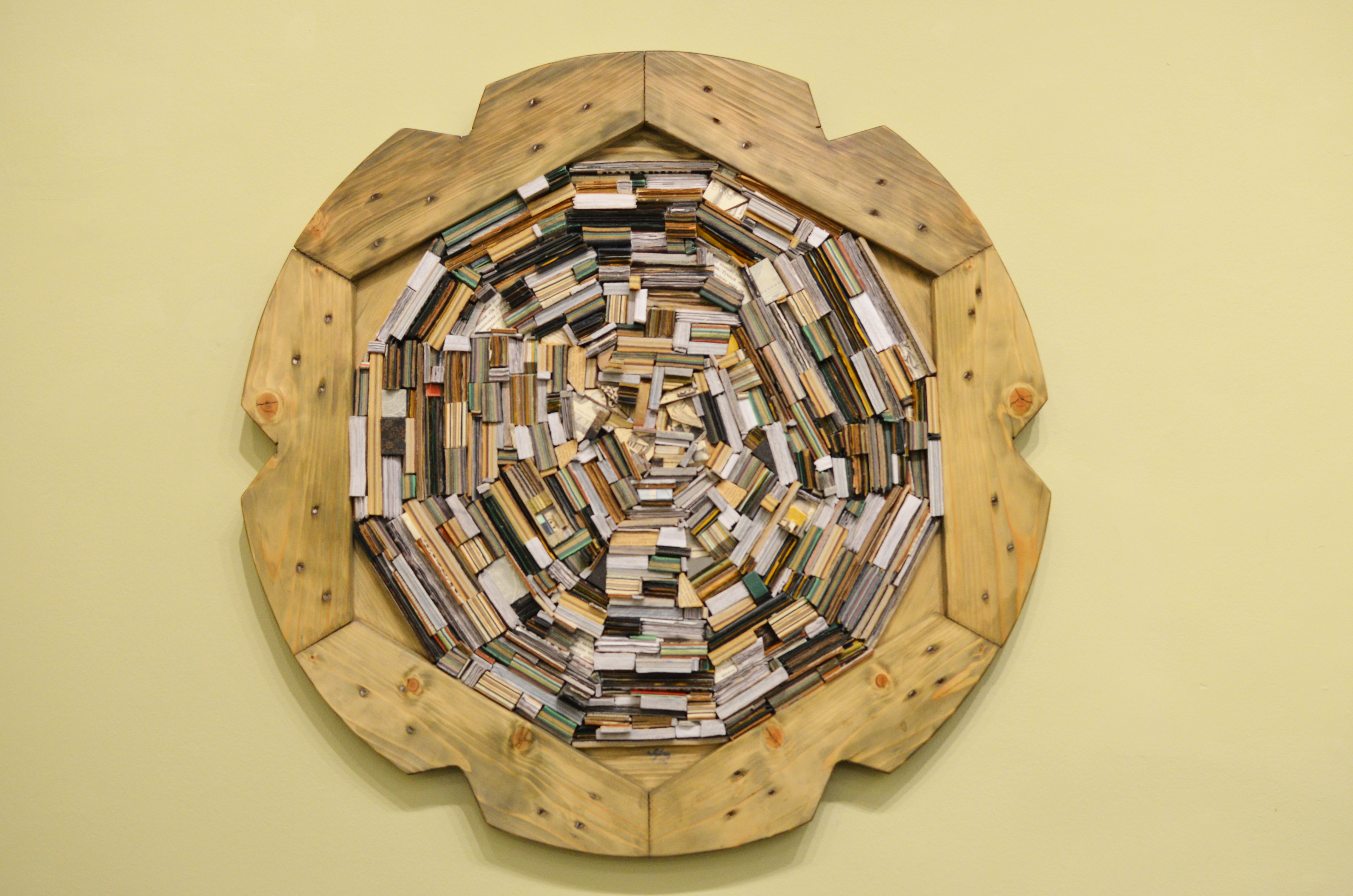 Olvasókör-100cm-könyvlapokfa