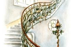 A Reök-palota lépcsőháza