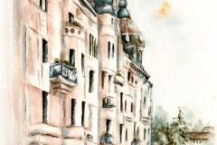 Az Ungár-Mayer-palota Kárász utcai oldala